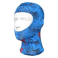 sbart hazır giyim toptan satış-Wetsuit Yüzme özel kaput Su Geçirmez kaput kafa Güneş Koruyucu maske Dalış maskesi Yüzmek kap sbart Yüz Gini