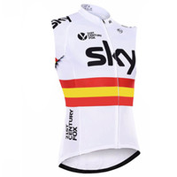 Wholesale sky cycling for sale - SKY summer sleeveless Breathable cycling jersey Racing bicycle Mountain MTB Pro team Bike Clothing Maillot Ropa Ciclismo
