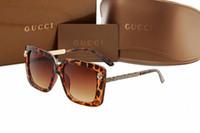 big framed glasses retro großhandel-Chrom übergroße Sonnenbrille Retro Männer quadratische Sonnenbrille großen Rahmen für Männer Fahrer Sonnenbrille Marke Driving Sonnenbrille mit Originalverpackung