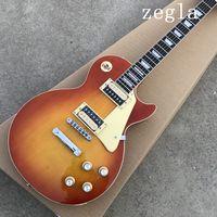Wholesale guitar customs online - Custom Shop lp standard custom electric Guitar handwork Strings Rosewood fingerboard Chibson guitarra support customization