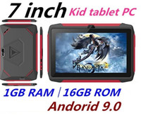 Wholesale kids tablets with wifi resale online - Newest kid Tablet PC Q98 Quad Core Inch HD screen Android AllWinner A50 real GB RAM GB Q8 with Bluetooth wifi free dhl