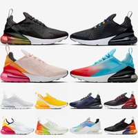 Wholesale cycling wash resale online - Fashion Women Mens Air Cushions Running Shoes Black Firecracker Multi Color Washed Coral Kylie Boon Summit White Runners Sports Sneakers