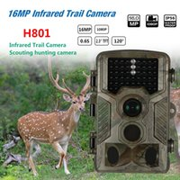 Wholesale mini tft lcd resale online - Mini MP P Hunting Trail Camera TFT LCD Professional Wildlife Waterproof Camera for Daytime Night with Password USB Cable