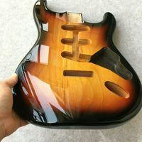 ingrosso corpo alder chitarra-Body per chitarra elettrica Stratocaster in legno di ontano p1