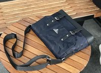 Wholesale new cell phones for girls for sale - Group buy famous new Briefcase Brand mens bag leather print messenger bags cross body bag shoulder bag Business briefcase for Men sacoche homme