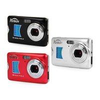 câmera mini tiro venda por atacado-AMK-CDFE Digital câmera de 8 megapixels de 2,7 polegadas TFT Viagem Mini HD disparo da câmera digital portátil manual