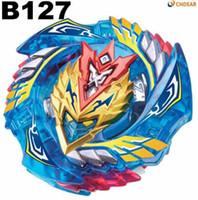 beyblade orion toptan satış-Beyblade Burst B-127 Marş Cho-Z Valkyrie.Z.Ev babas Toupie Bayblade patlama Metal Tanrı Fafnir İplik Bey Bıçak Bıçakları Oyuncak Tops