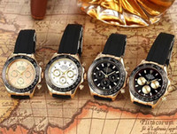 Wholesale prices watch movements for sale - Group buy Price Mens Sport Wrist Watch Quartz Movement Male Time Clock Watch with Rubber Band offshore XXS Rolex