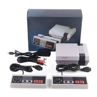 Wholesale video game retail package resale online - New Arrival Nes Mini TV Can Store Portable Game Players Console Video Handheld For NES Games Consoles Wth Retail Box Package