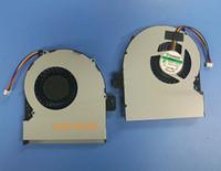 ventiladores de refrigeración asus cpu al por mayor-Nuevo ventilador de refrigeración para CPU portátil para Asus X751M ventilador 17.3 Series Cooling X751 CPU