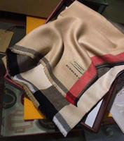 longues écharpes argent noir achat en gros de-Top designer foulard en soie marque dames doux super long luxe foulard châle printemps mode foulards imprimés CADEAU