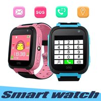 Wholesale watches for kids children resale online - Q9 Smart Watch For Kids Watch With Remote Camera Anti lost Children Smartwatch LBS Tracker Wrist Watches SOS Call For Android IOS