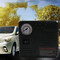 Wholesale car tire electric air pump resale online - Tire Portable ABS V Electric Cylinders Pointer Car Universal Fast W Mini Durable Air Compressor Inflatable Pump