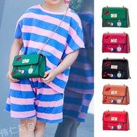çanta modası çocukları toptan satış-2019 Yeni Moda Kız Çanta çocuklar tasarımcı çanta Sevimli Çanta Omuz Çantası Çocuk Messenger Çanta Mini rahat küçük kızlar çantalar A3060