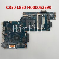 Wholesale intel hm77 motherboard online - High quality For Satellite C850 L850 Laptop motherboard H000052590 HM77 HD4000 DDR3 full Tested