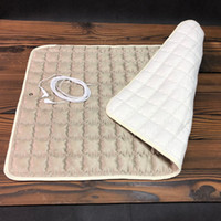 Wholesale earthing pads for sale - Group buy Grounding sheet throw pad seat Earthing Throw pad grounding bed pad EMF protection conductive mat silver grey beige with socket USB cord