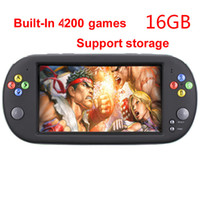 Wholesale build games console for sale - Group buy GB portable PSP X16 Handheld Game Console Games Built In storage games FOR CPS GBA MD FC GB