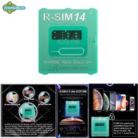 Wholesale Newest RSIM14 iPhone unlocking smart R Sim card for iPhone xmax iPhone8 iPhone7 plus i6 unlocked iOS x x G unlock In stock