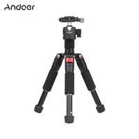 Wholesale head mount for camera resale online - Andoer K521 section Extendable Aluminum Alloy Tripod with Mini Ball Head quot Screw Mount for Canon Nikon Sony DSLR ILDC Camera