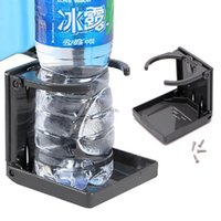Wholesale car fish box resale online - Folding Drink Cup Can Bottle Holder Stand Mount Car Auto Boat Fishing Box Car Styling Apr