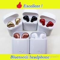 écouteurs bluetooth achat en gros de-Casque Bluetooth I7S i8x i9s TWS Twins Écouteurs Écouteurs sans fil Casque avec Micro Stéréo V5.0 pour iphone Android PK AirPods i10