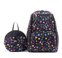 Wholesale polka dot backpack for baby for sale - Group buy New arrival Diaper Bag Multifunctional Nursing Backpack for Baby Care Large Capacity Mummy Maternity Bag travel small bag to prevent lost