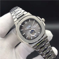 lua relógios mens venda por atacado-10 Cores Relógios de Alta Qualidade Nautilus 5726 / 1A-001 Homens Mecânicos Automáticos Assista Fase da Lua Sapphire Relógios De Pulso De Aço Inoxidável 40.5mm