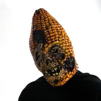 Wholesale 15 mask for sale - Group buy 15 Full Face Scary Burn Corn Mask for Cosplay Latex Mask Horror Masquerade Adult Ghost Halloween Theater Props Party XMAS Decor