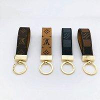 Wholesale 2019 High qualtiy Luxury Keychain Key Chain Key Ring Holder Brand key chain Porte Clef Gift Men Women Souvenirs Car Bag Keychain RT88A