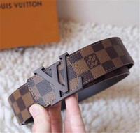 cinto homens jaguar venda por atacado-Presente de natal Genuíno designer de couro cintos dos homens de alta qualidade Jaguar fivela lisa cinto masculino banda larga cintos de negócios para homens cinturo