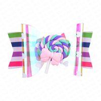 Wholesale hair clip for summer for sale - Group buy 2020 Summer Rainbow Lollipop Cute Children Hairpin Hair Clips Accessories For Girls Kids Hair Ornament Barrettes Hairclip Headdress D62802