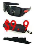harz wolf großhandel-$ 9.9 Ein Paar mit Hülle! Epacket lieferung retro sonnenbrille mode bat wolf sonnenbrille outdoor sport sonnenbrille viele farben.
