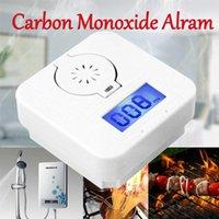 rauch-carbon-detektoren großhandel-Digital CO Carbon MonoxideSmoke Detector Alarm Vergiftungsgaswarnsensor
