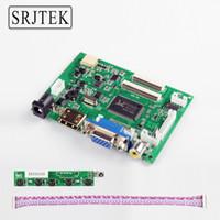 lcd yazıcı sürücüsü toptan satış-Srjtek VS-TY2662-V2 HDMI VGA 2AV 40/50 Pins Ahududu PI 3 EJ101IA-01G için PC Denetleyici Kurulu 8 bit IPS LCD Ekran Sürücüsü