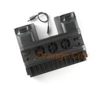 base de carga ps4 al por mayor-Para PS4 Slim PRO Soporte vertical Ventilador de refrigeración Refrigerador Controlador dual Cargador Estación de carga para Playstation 4 Accesorios PS4