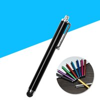Wholesale touch screen pen mobile for sale – best Stylus Pen Capacitive Touch Screen Pen For Universal Mobile Phone Tablet iPod iPad cellphone iPhone S plus
