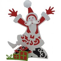 lustige weihnachtskarten großhandel-Großhandel Weihnachten lustige Geist genäht DIY Metall Stanzformen Scrapbooking Schablonen Handwerk sterben Prägung Fotoalbum Papier Karte