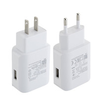 Wholesale charger 12v 3a resale online - Fast Adaptive QC V A V A V A US Eu Ac home travel wall charger power adapter for samsung s7 s8 D5 android phone