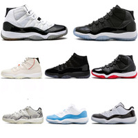 Wholesale 23 sneakers for sale - Group buy Men Women S High Low Basketball Shoes Concord Space Jam Unc Bred Infrared Gym Red Cap and Gown Sneakers