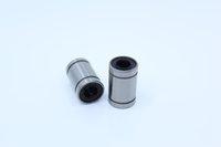 rolamentos de buchas lineares venda por atacado-LM08UU (10PCS) bola rolamentos 8x15x24MM LM8UU Linear Motion rolamentos 3D impressão