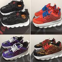 03da66f952 altura de aumento de los zapatos deportivos para los hombres al por  mayor-Versace Diseñador