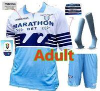 92737a56a97 Adult kit+sock 2018 2019 Advertising Lazio Italian Cup final jersey 18 19  F.ANDERSON LUCAS KISHNA BASTA D JORD JEVIC KEITA IMMOBILE LULIC F