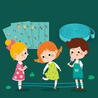 corda de salto de borracha venda por atacado-Grátis Criança Elastic Rubber Jump Rope Toy Jogo de exterior Escola Primária Ir Student Rubber Força Banda Muitos Corda pessoas saltar de brinquedo