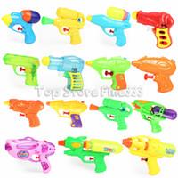 ingrosso lancia la pistola-Pistole ad acqua Estate Creativa Pistole ad acqua per bambini all'aperto interessante giocattolo da spiaggia a spruzzo dalla pressione dell'aria per i giocattoli per bambini 41854
