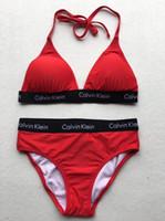 biquínis sexy de duas peças venda por atacado-HH6 Moda Meninas Biquíni Sexy Backless Two-Piece Biquíni Beachwear Verão Esportes Aquáticos Swimwear Mulheres