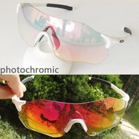 ciclismo holbrook gafas de sol al por mayor-Holbrook evzero PRIZM decoloración gafas de sol para hombre al aire libre los accesorios de gafas UV400 gafas deportivas reflejan el ciclismo antirreflectante