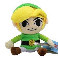 video japon al por mayor-La leyenda de Zelda 25CM felpa rellena Peluches con Skyward Sword Japón regalos de la Navidad del envío libre animado para niños juguetes