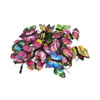 çıkarılabilir yapışkan malzeme toptan satış-50 dağınık kelebekler, çeşitli renkler