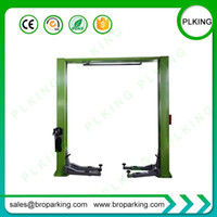 Wholesale portable car lift for sale - Group buy Low Ceiling Lift Garage Portable Hydraulic Post Car Lift with Clear Floor