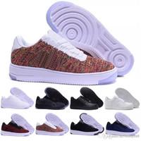 nefes alabilen dokuma ayakkabılar toptan satış-2019 yeni casual erkek ayakkabı fly hattı örgü nefes düz bir bir örgü ayakkabı klasik hava spor erkek ayakkabı ücretsiz kargo